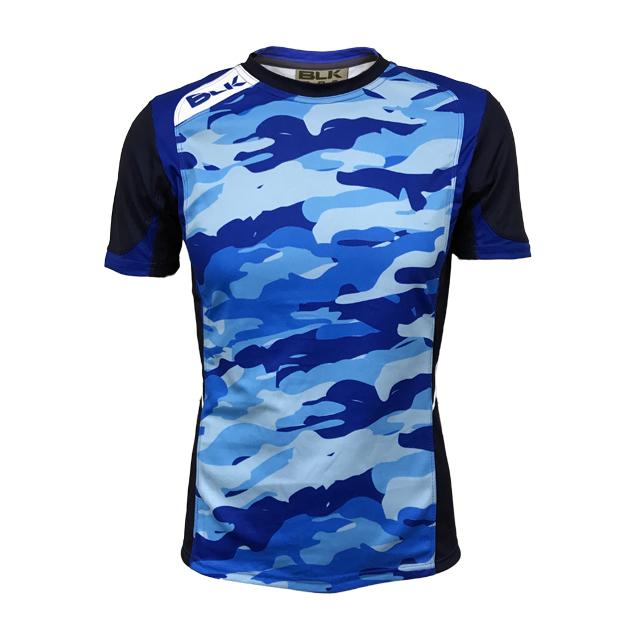 BLK T2 ティーシャツ NBC  ラグビー 迷彩 AR008-307