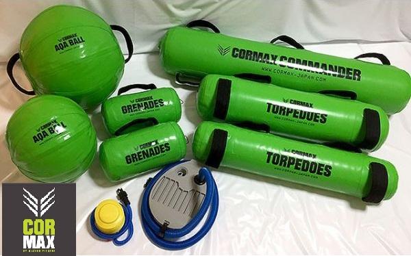 CORMAX GYM Kit ジム・キット コアマックス トレーニング ラグビー AR012-011 直送品 空気入れセット