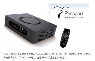 HORIZON ホライズン オプション パスポートプレーヤー PassportPlayer