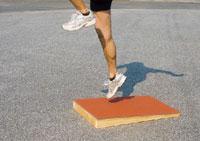 ニシスポーツ スロープボード T6905C NISHI 跳躍トレーニング 陸上競技