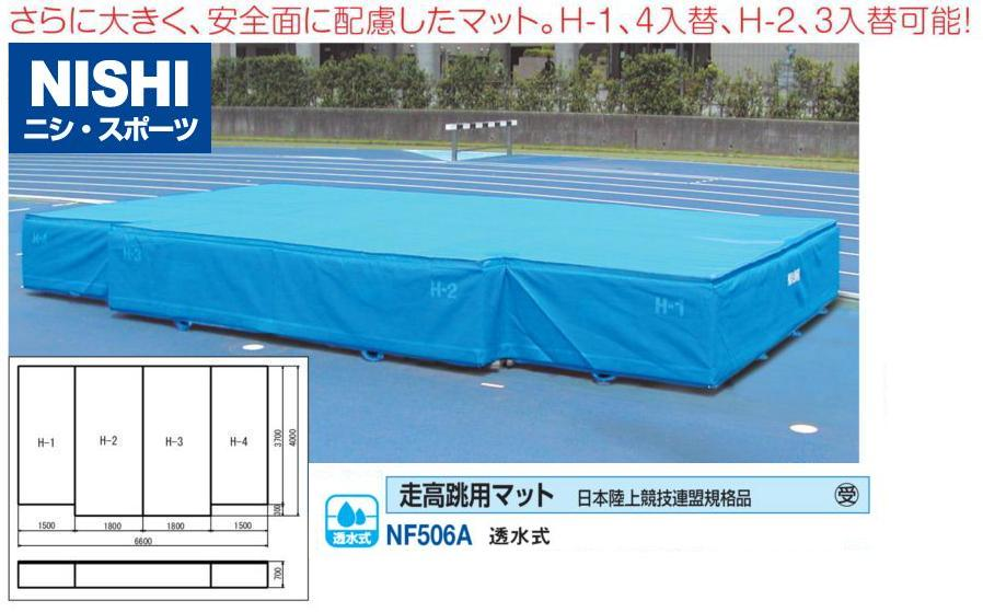 NISHI(ニシ・スポーツ)NF506A 【陸上競技】 走高跳用マット 透水式 日本陸上競技連盟規格品 受注生産品