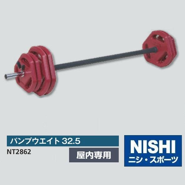 NISHI ニシ スポーツ NT2862 パンプウエイト32.5 屋内専用