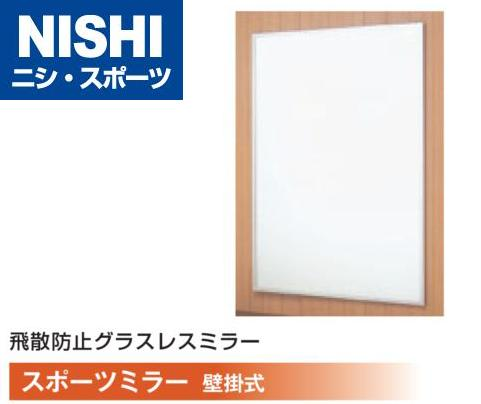 NISHI ニシスポーツ 軽量 スポーツミラー 壁掛式 G2225 W900×H1800mm(ミラー面) 10%OFF!! 受注生産品 トレーニング フィットネス ジム