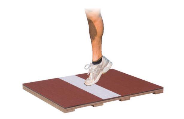 NISHI(ニシ・スポーツ)高跳び:幅跳び フラットボード SD-M(走幅跳・三段跳) T6905A