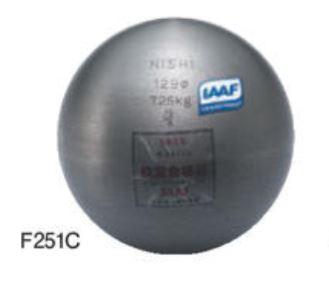 NISHI(ニシ・スポーツ) 砲丸 鉄製7.260kg F251C