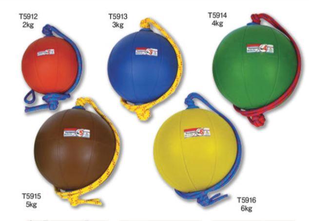 NISHI(ニシ・スポーツ)T5916 スウィングソフトメディシンボール(ゴム製) 6kg 直径29cm イエロー