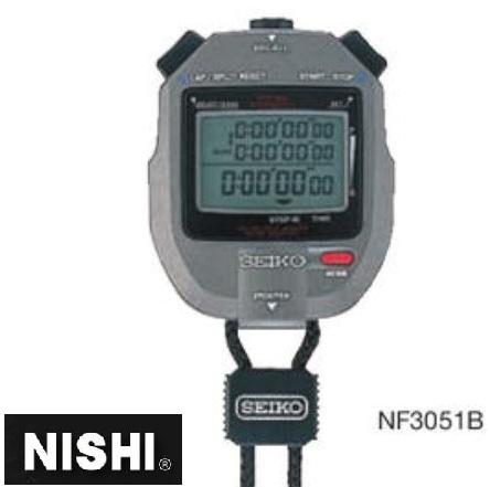ニシスポーツ システムストップウォッチ SVAS011 NF3051B NISHI 陸上競技 必備用具 電子機器