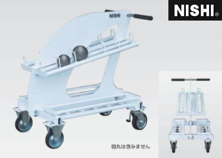 投てき用具(砲丸)置台 ニシ・スポーツ 砲丸置台 NF1344B 大型直送品4 NISHI 砲丸投げ 陸上競技用具