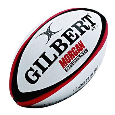 早いパス 正確なパスを投げる為のトレーニングボール ギルバート ラグビー モーガン パス練習球 約980g GILBERT メディシン 公式 ボール 5号球 GB-9129 評価