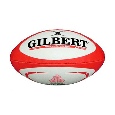 ギルバート レプリカボール 日本代表 ミディボール 2019年バージョン GB-9334 日本代表ロゴ入り GILBERT ラグビーボール
