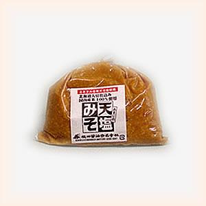 根田醤油 天塩(あまじお)みそ1kg袋 【がんばろう!福島】