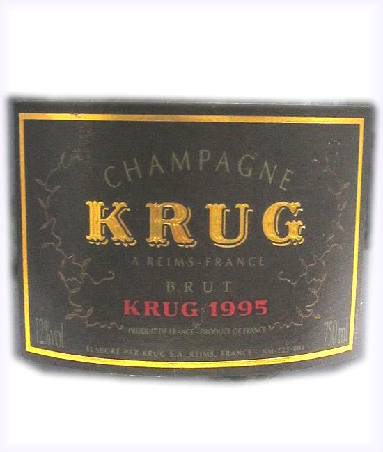 [1995]クリュッグ 【専用箱なし】Krug