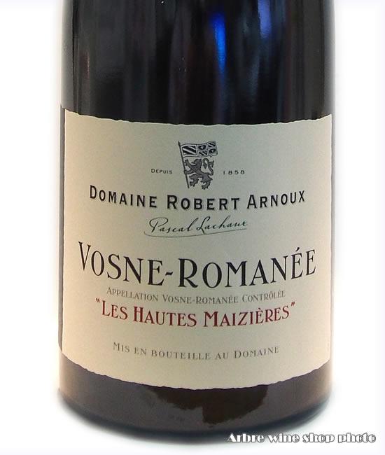 [2006]ヴォーヌ ロマネ オート・メジエール/ドメーヌ・ロベール・アルヌーVosne-Romanee Les Hautes Maizieres/Robert ARNOUX