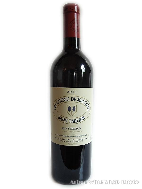 シャトー 限定モデル パヴィ マカンのセカンドワイン 2011 市販 レ シェーヌ ド マカンLes セカンドワイン Chenes プレゼント Macquin 赤ワイン お酒 フランスワイン de