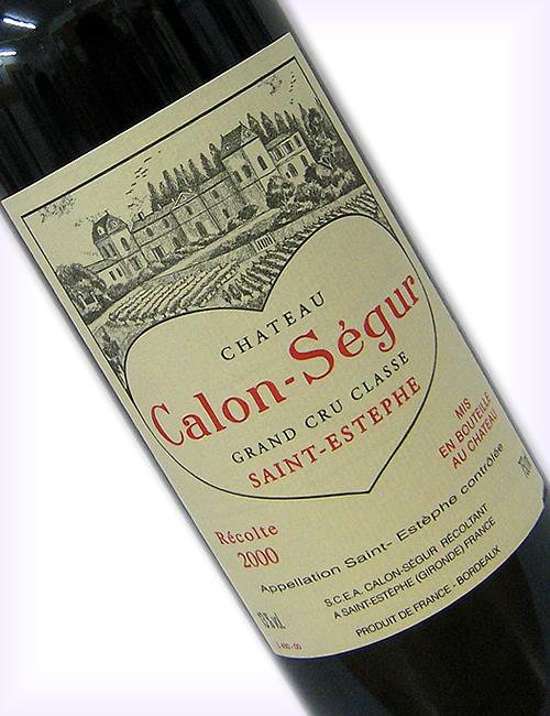 [2000]シャトー・カロン・セギュールCH.CALON-SEGUR