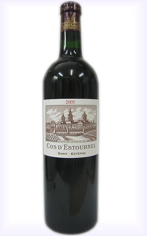 新登場 2005 シャトー コス デストゥルネルCH.COS D'ESTOURNEL お酒 送料無料 新品 フランスワイン ヴィンテージワイン プレゼント 赤ワイン
