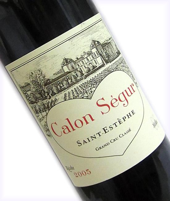 [2005]シャトー・カロン・セギュールCH.CALON-SEGUR