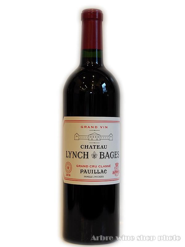 2級と肩を並べるワイン 2016 シャトーランシュ バージュ CH.LYNCH-BAGES フランスワイン 新品 ヴィンテージ 赤ワイン 希少ワイン プレゼント お酒 卸直営