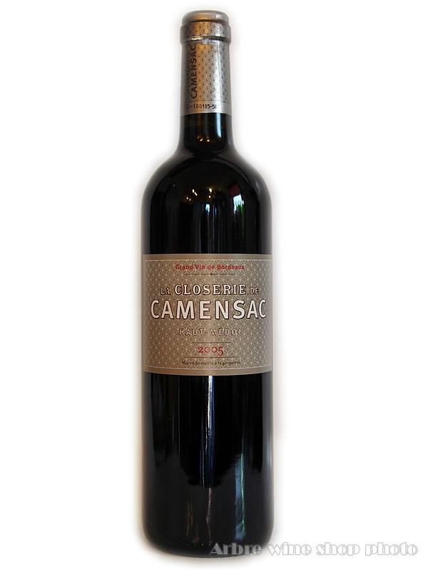 CH.カマンサックのセカンドワイン 売れ筋ランキング 2005 ラ クロズリー ド カマンサックLa Closerie de 赤ワイン ヴィンテージワイン フランスワイン お酒 Camensac プレゼント 特別セール品