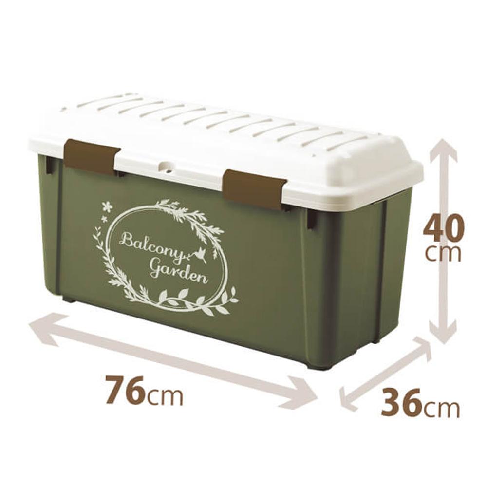■2個まで1個口■ 天馬 屋外大型収納用品 グリーン バルコニーガーデン 税込 定番から日本未入荷 ストッカーM