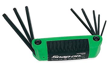 SNAP-ON snap-on snap-on Torx and 8 size folding set AWTEF8K