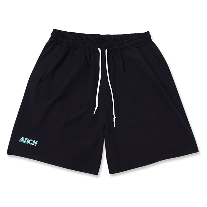 Arch アーチ ショートパンツ stretch nylon short ウェア mint black pants 注文後の変更キャンセル返品 黒緑 当店一番人気 バスケ