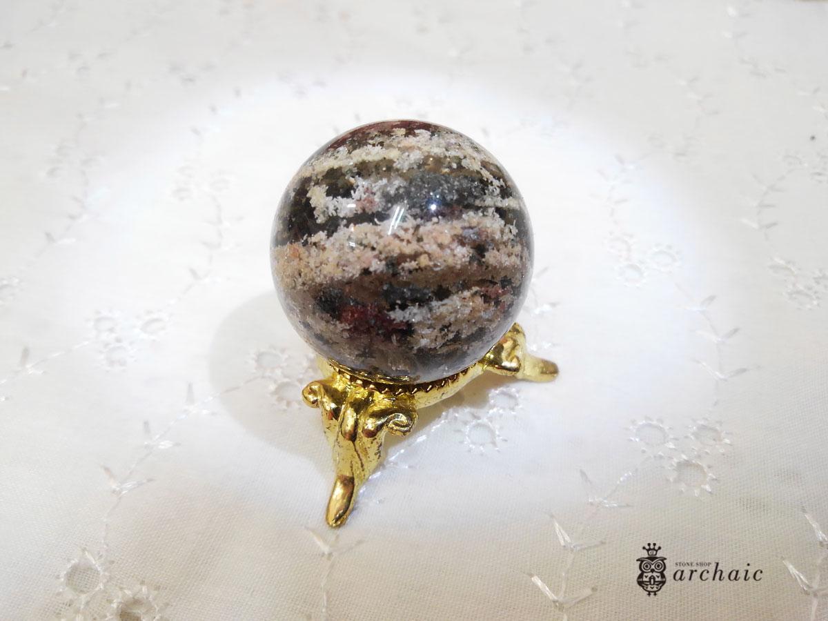 ガーデンクォーツの丸玉(31mm)