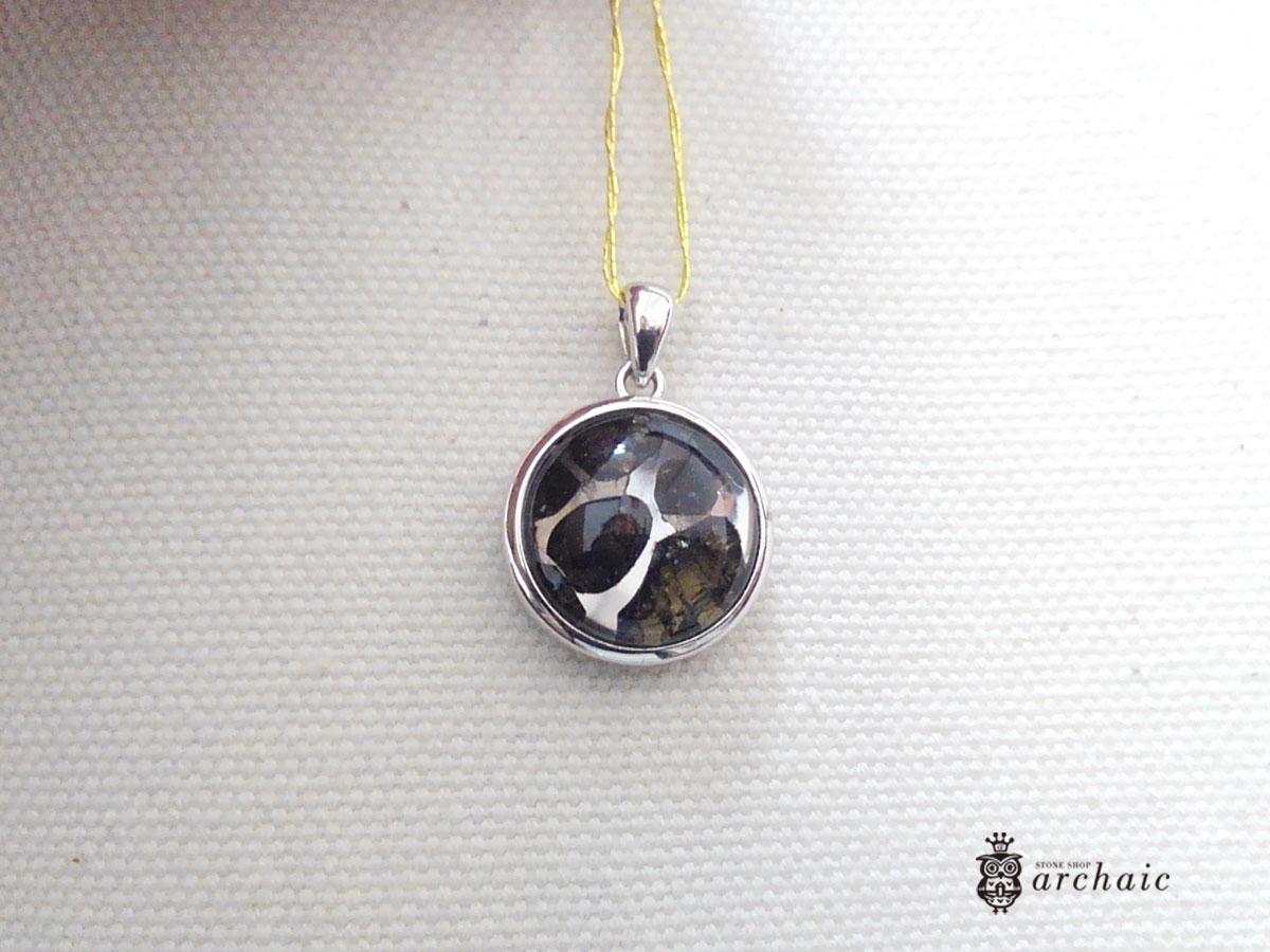 【SV925】セイムチャン・パラサイト隕石のペンダントトップ