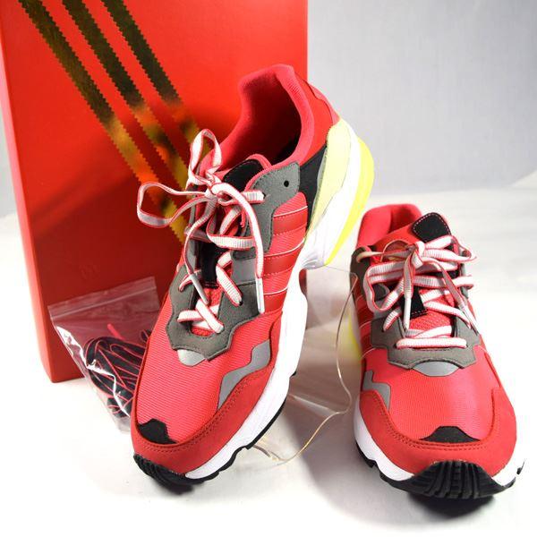 【値下げ】【2020/06/03】adidas / アディダス ◆ヤング-96 CNY/スニーカー/レッド/27cm/箱付き G27575 【メンズ/MEN/男性/ボーイズ/紳士】【靴/クツ/シューズ/SHOES】 メンズファッション【中古】