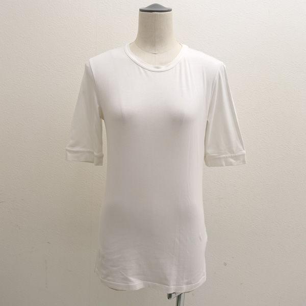 BRUNELLO CUCINELLI ブルネロクチネリ カットソー 半袖 襟装飾 ホワイト 全国どこでも送料無料 サイズL 売れ筋 DT5228205 レディースファッション 中古 ガールズ 女性 婦人 LADY レディース 古着