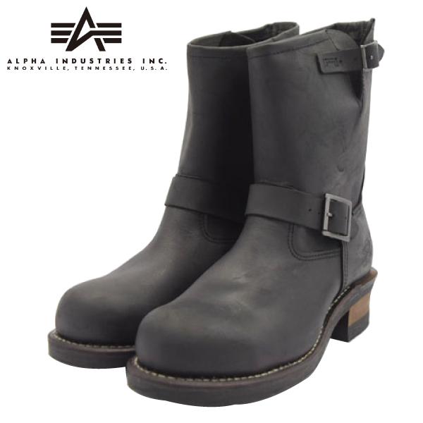ALPHA INDUSTRIES アルファ インダストリーズ AFB-20016 本革 エンジニアブーツ 靴 メンズ 【nesh】 【新品】