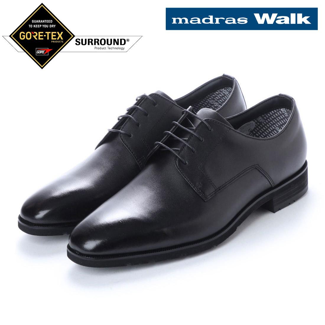 madras Walk マドラス プレーントゥ ビジネス シューズ ゴアテックス MW5631S 防水 【nesh】 【新品】