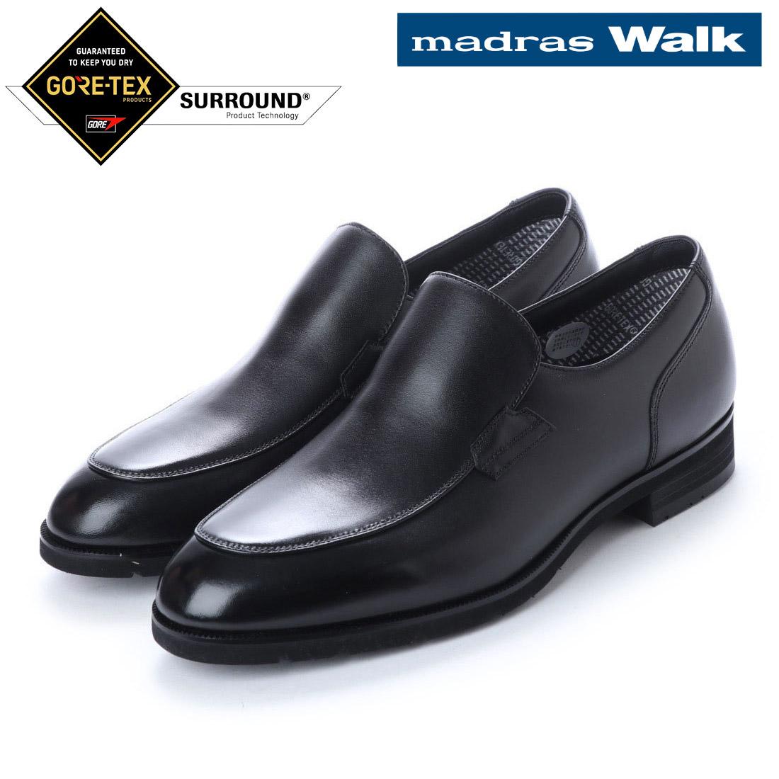 madras Walk マドラス スリッポン ビジネス シューズ ゴアテックス MW5642S 防水 【nesh】 【新品】
