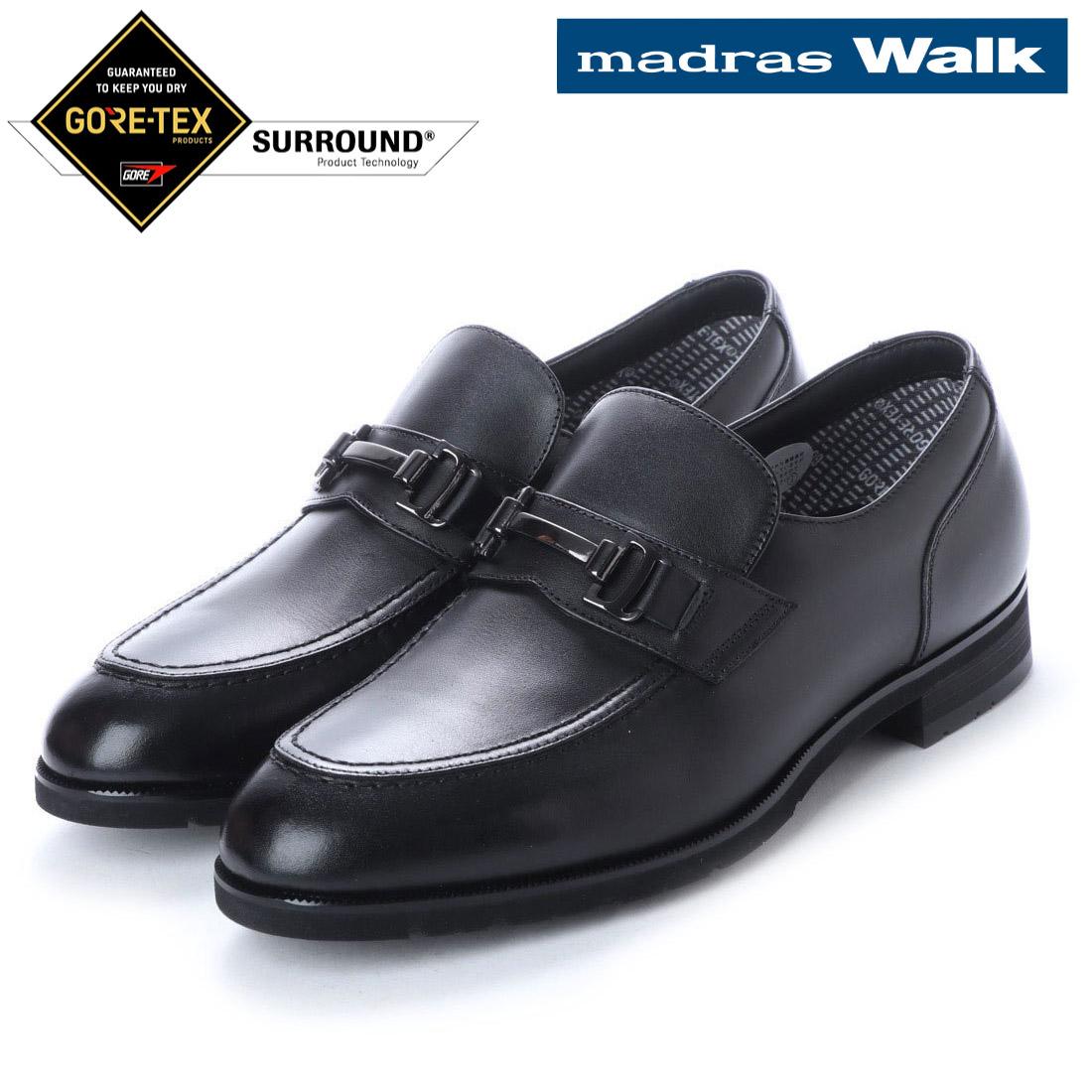 madras Walk マドラス スリッポン ビット ビジネス シューズ ゴアテックス MW5643S 防水 【nesh】 【新品】