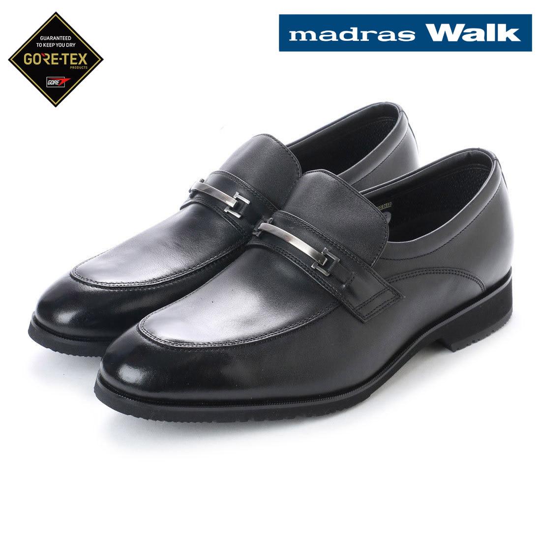 madras Walk マドラス スリッポン ビット ビジネス シューズ ゴアテックス MW8005 防水 【nesh】 【新品】