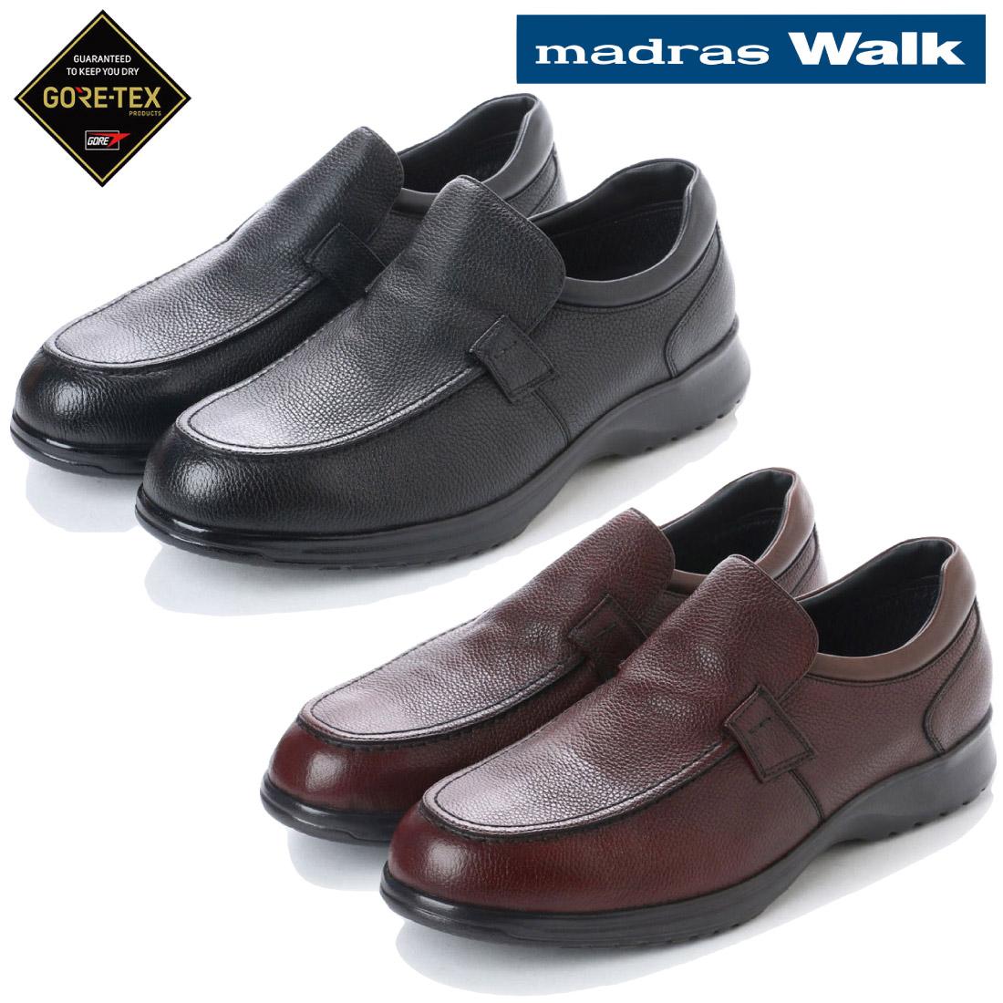 madras Walk マドラス スリッポン ウォーキング カジュアル シューズ ゴアテックス MW8009 防水neshuFTc35l1KJ