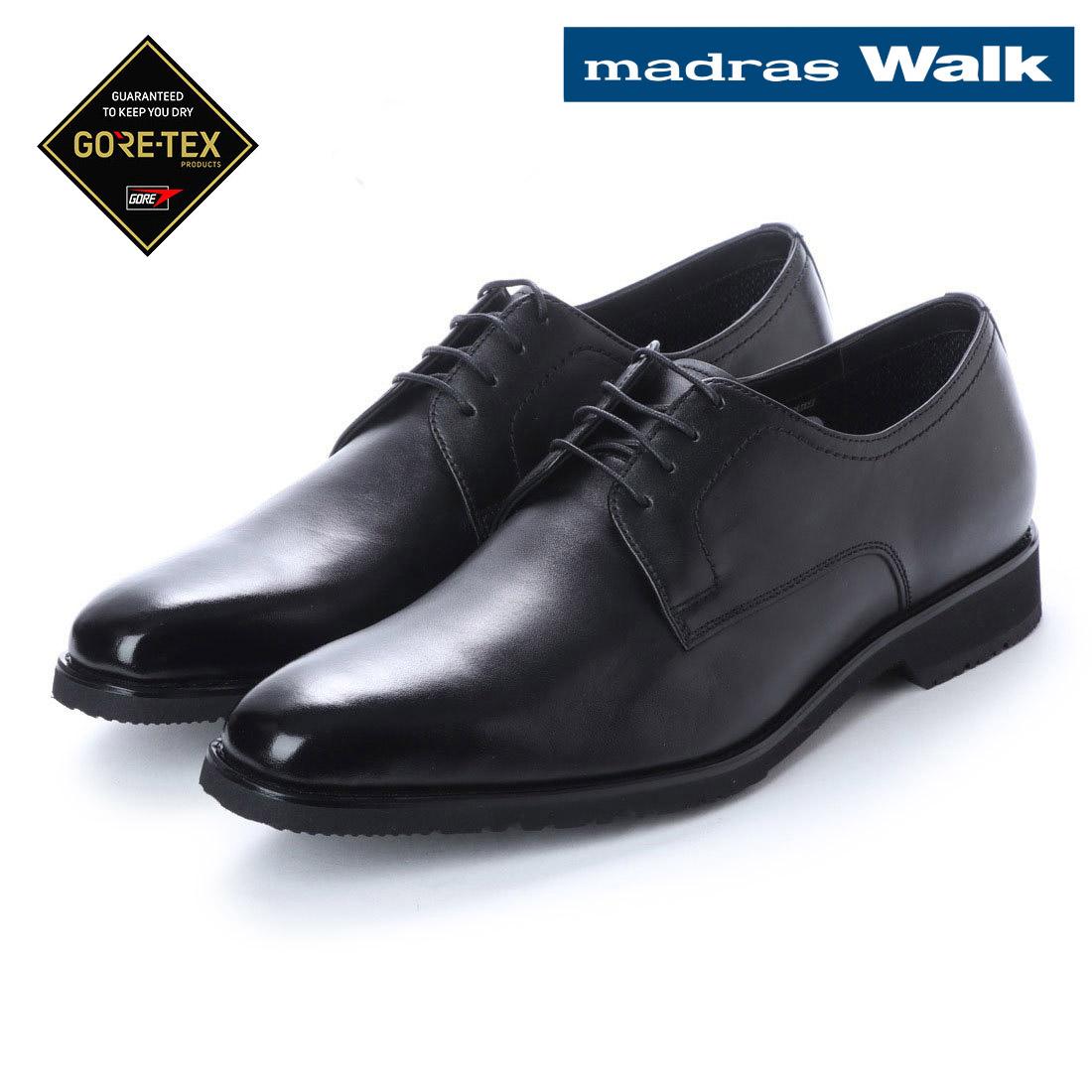 madras Walk マドラス外羽根 プレーントゥ ビジネス シューズ MW8022 防水 革靴 【nesh】 【新品】