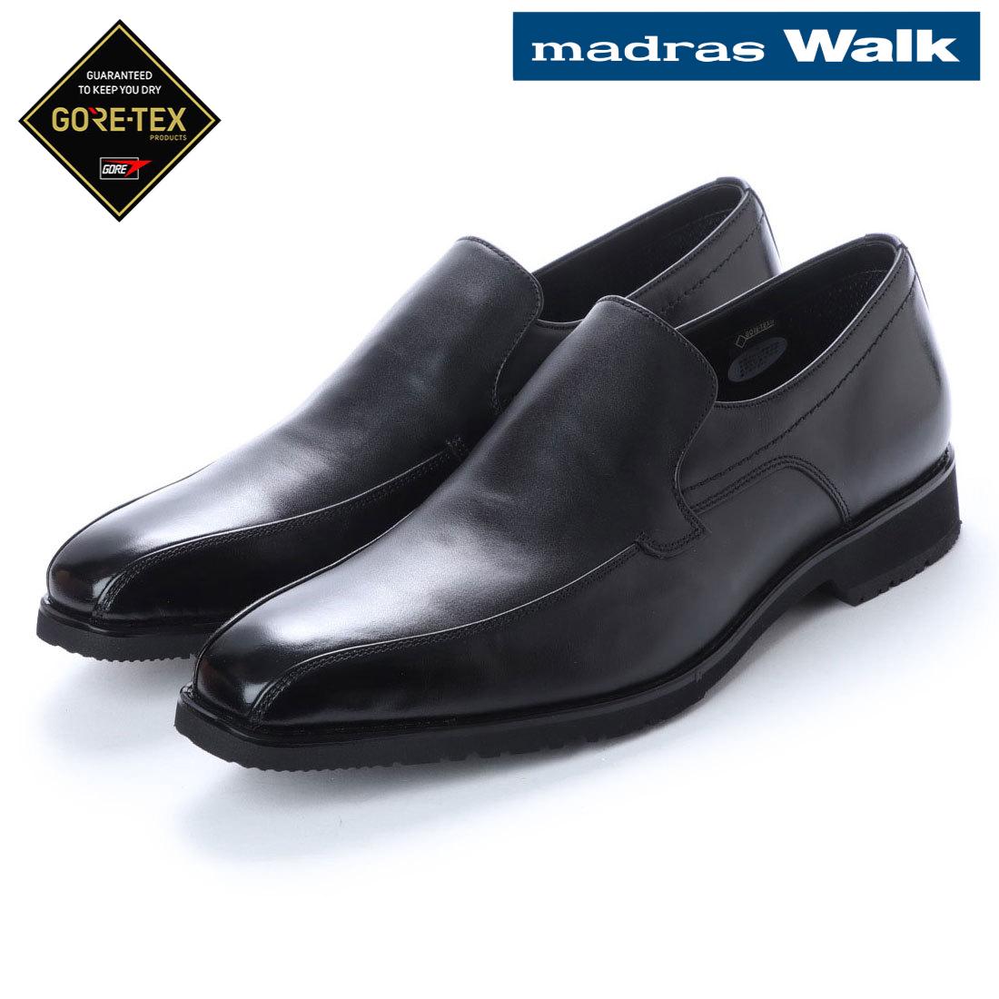 madras Walk マドラス スワール モカヴァンプ スリッポン ビジネス シューズ MW8024 防水 革靴 【nesh】 【新品】