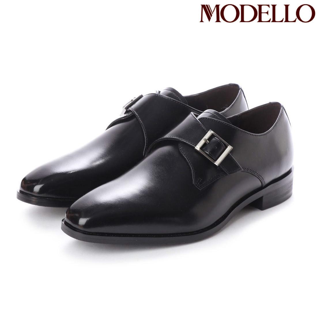 モデロ MODELLO モンクストラップ ビジネスシューズ DM5126 マドラス 革靴 【nesh】 【新品】