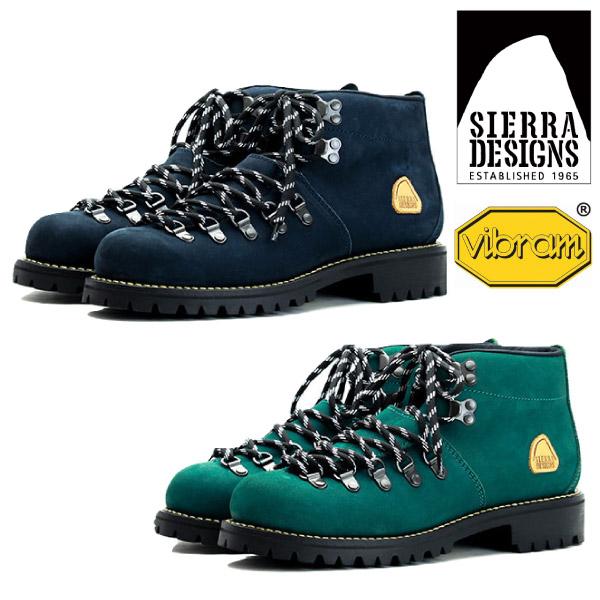 SIERRA DESIGNS シエラデザインズ ヌバックレザーマウンテンブーツ 革靴 本革 【nesh】 【新品】