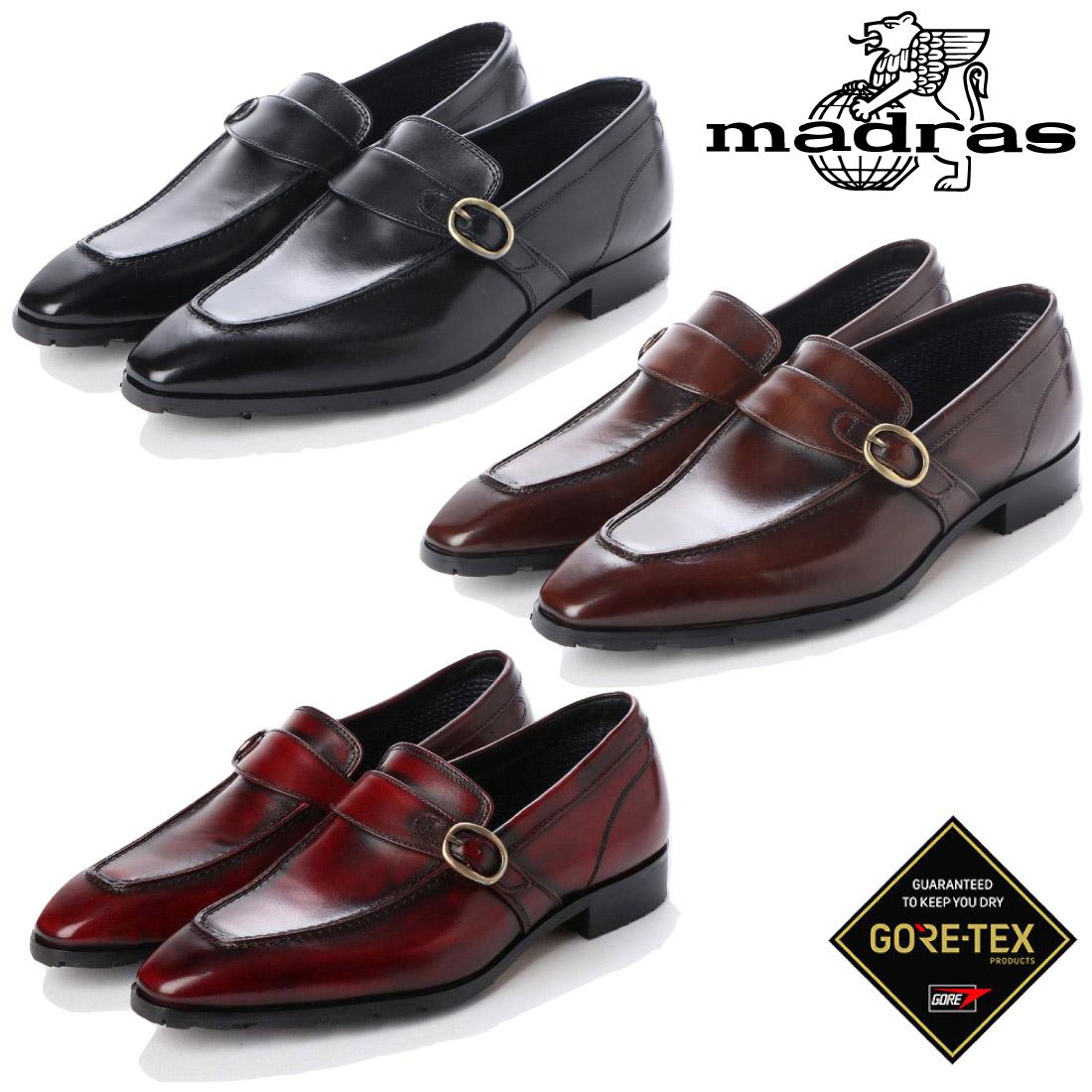 Madras マドラス M5004G メンズ スリッポン ビジネス シューズ 本革 ゴアテックス 【nesh】 【新品】