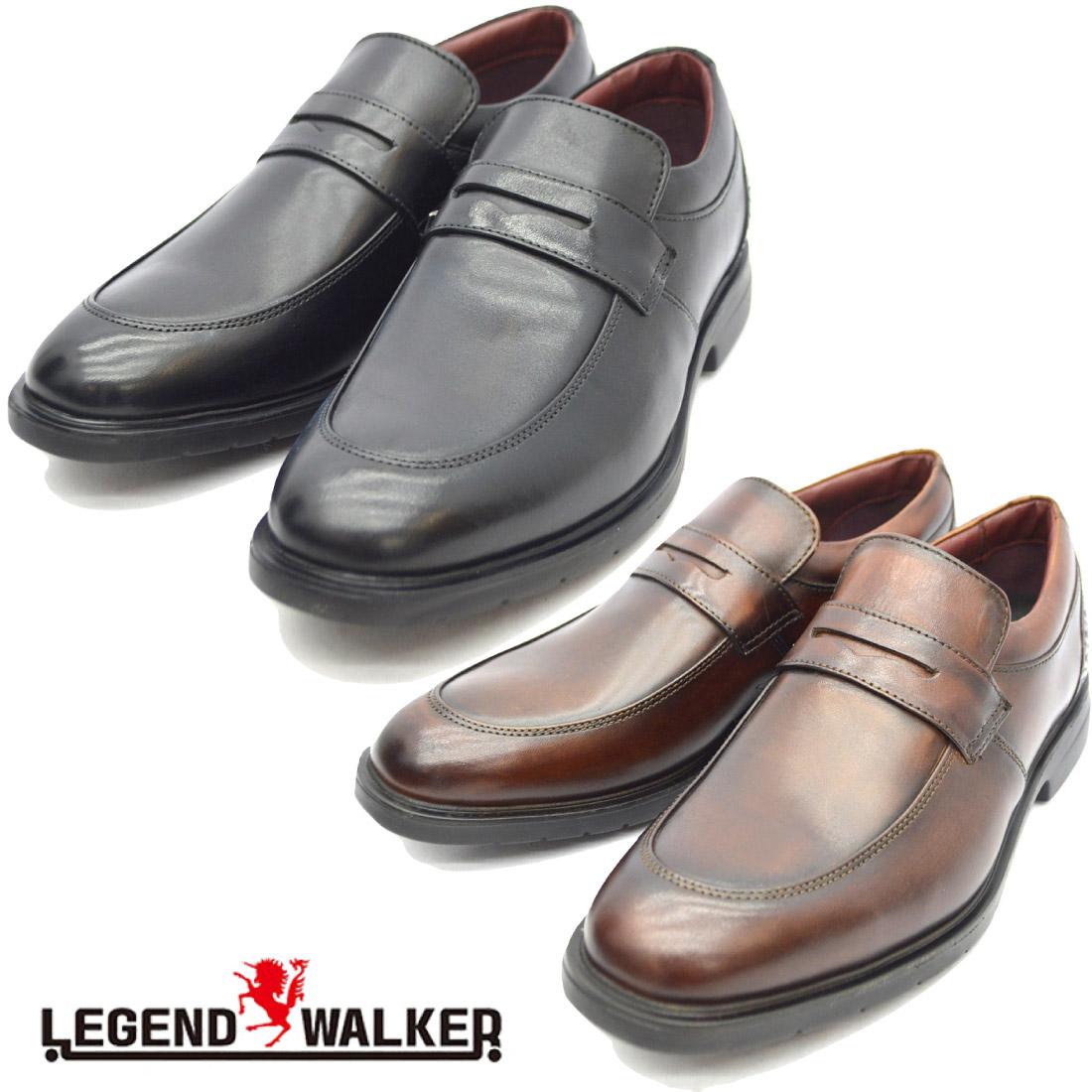 Legend Walker レジェンドウォーカー スリッポン ビジネス シューズ LW002 【nesh】 【新品】
