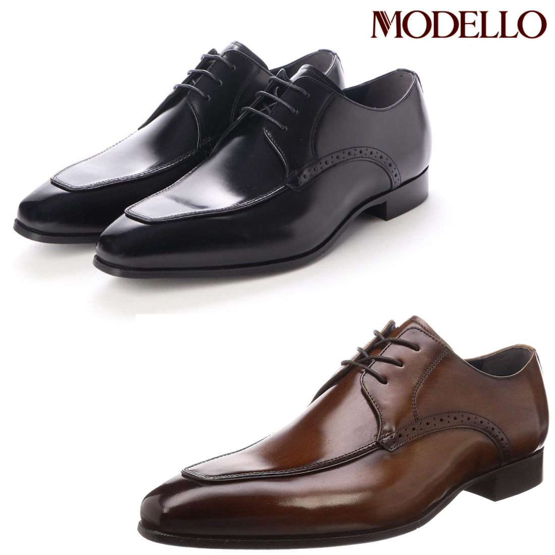 madras MODELLO マドラス モデロ Uチップ ビジネス シューズ DM9702 【nesh】 【新品】