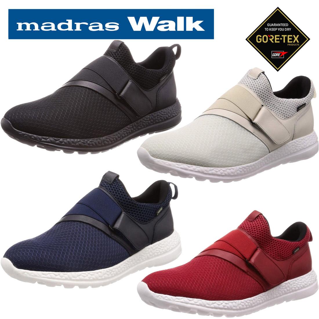 マドラスウォーク madras Walk ゴアテックス ストレッチテクノロジー搭載 カジュアルスニーカー MW8034 防水 【nesh】 【新品】