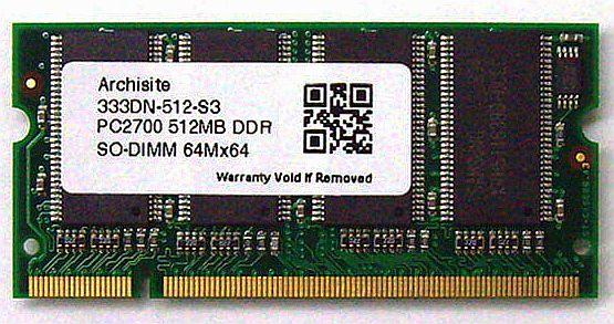 即納です 新品バルク品 1年保証 カード決済OK 送料全国一律 490円 離島除く ご予約品 Samsung DDR サムスンチップ搭載 333 3rd 512MB 直営ストア SODIMM PC2700