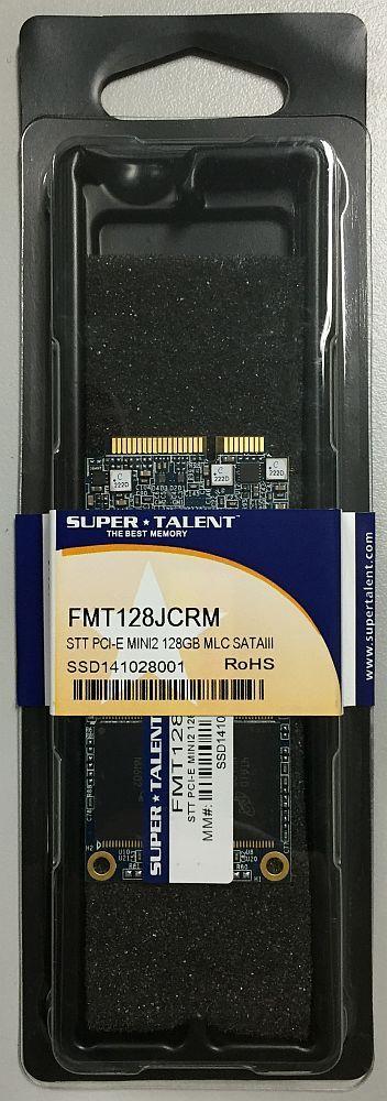 SUPER TALENT ASUS Eee PC S101用 SSD 128GB (SATA3 mini 2 PCI-E DX1 MLC) FMT128JCRM