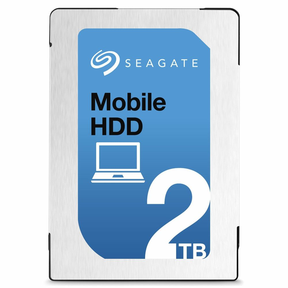 SEAGATE 2.5inch HDD 2TB SATA 6GB/s 5400回転 7mm厚 キャッシュ128GB ST2000LM007