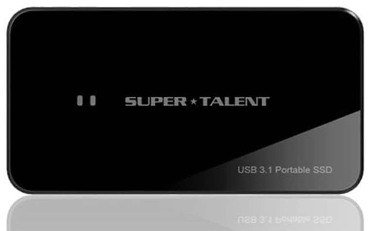 SuperTalent USB3.1 Portable RAID Drive(Read 最大750MB/Sec Write 最大700MB/Sec!) 480GB 外付けSSD FUW480UCU0