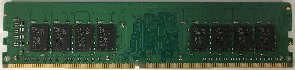 MICRON 3rd マイクロンチップ搭載 PC4-17000 DDR4-2133 16GB (1024Mx8 16Chip構成) デスクトップ用メモリ 288pin Unbuffered DIMM バルク品
