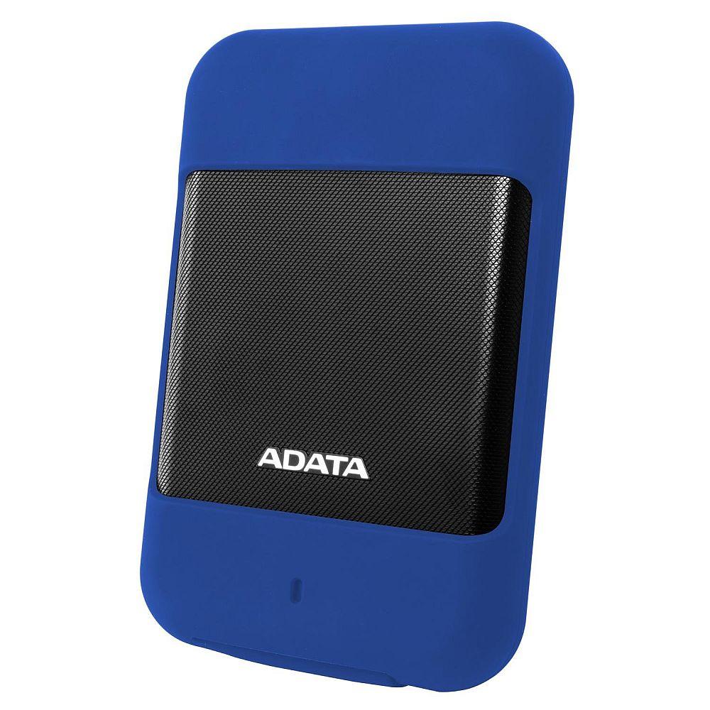 ADATA 2.5インチ ポータブルHDD HD700シリーズ 2TB USB3.1対応 防水・防塵性 Gショックセンサー搭載 3年保証 ブルー AHD700-2TU31-CBL
